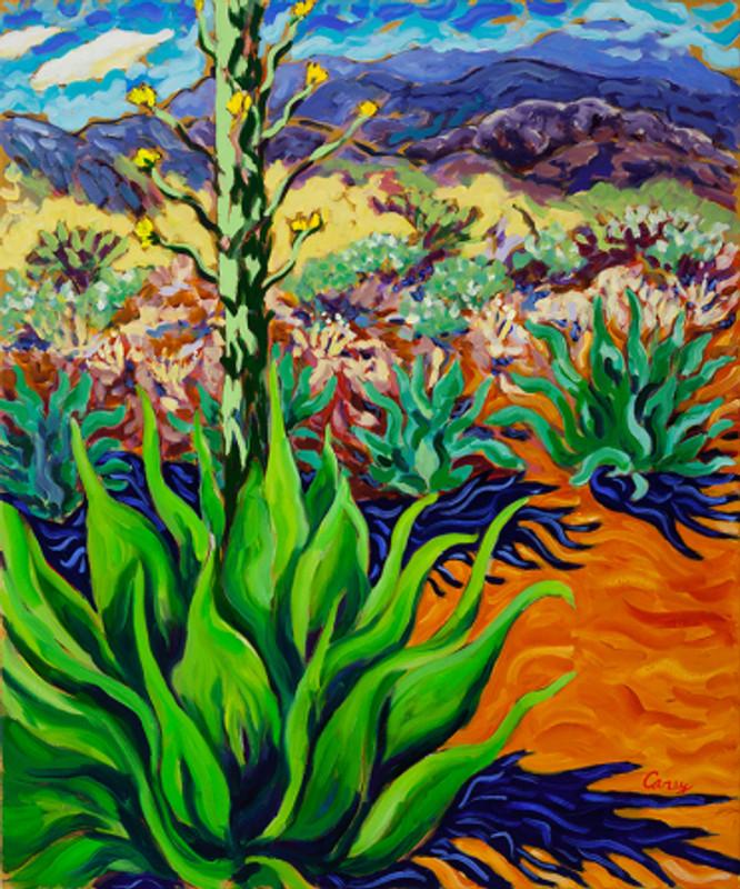 Sunnyland Agave oil by Cathy Carey