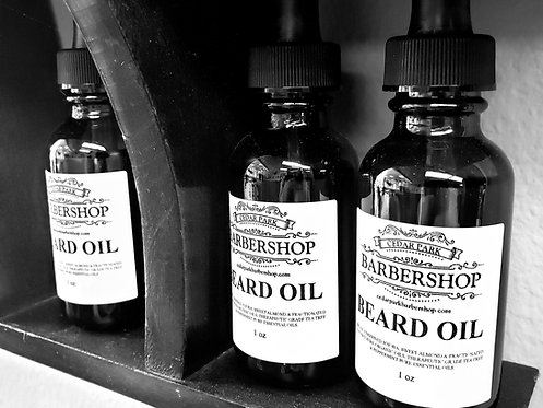 Cedar Park Barbershop Beard Oil