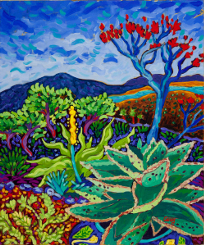 Octopus Agave by Cathy Carey