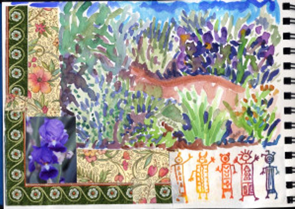 Huntington Garden 2009 - Iris Profusion p 3