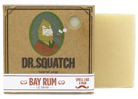 DR.SQUATCH Bay Rum Bar Soap