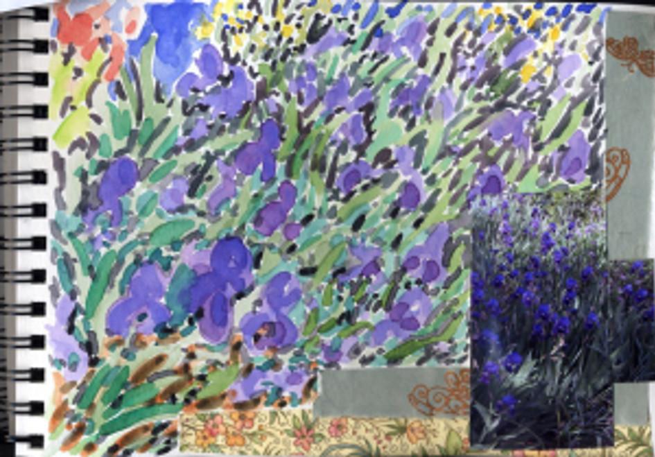 Huntington Garden 2009 - Iris p30