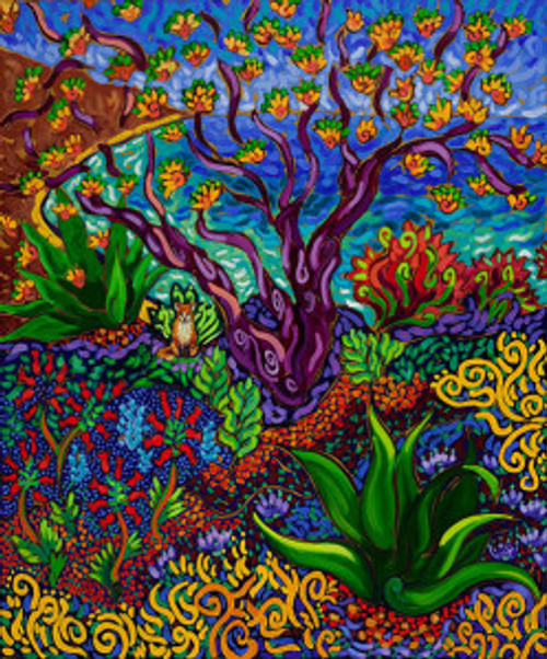Jeweled Garden by the Sea by Cathy Carey ©2014
