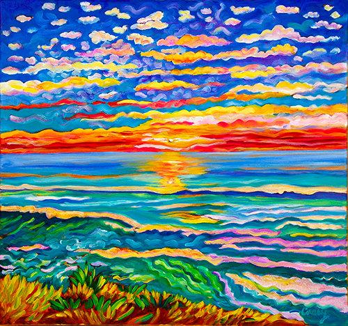 Eye in the Sky Sunset