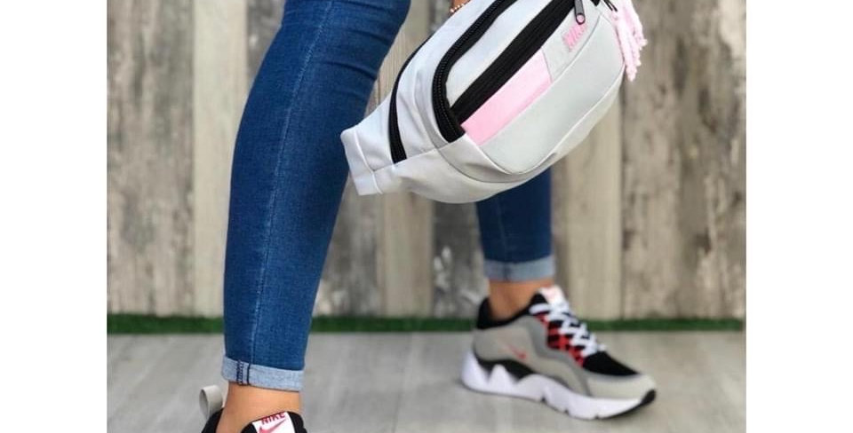 NIKE FANNY PACK AND SHOE SET