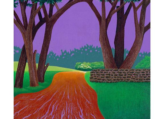 Passing Storm - Giclée Print on Canvas