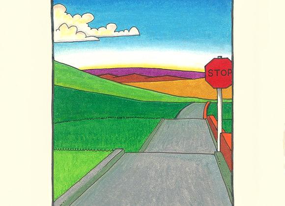 Go - Giclée Print on Canvas