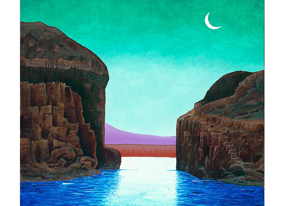 Moonlight Bay - Giclée Print on Canvas
