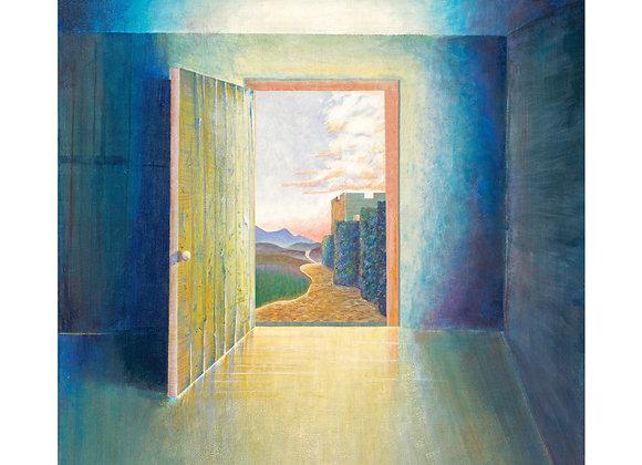 Castle View - Giclée Print on Canvas