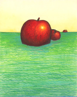 Apples At Sea - Red