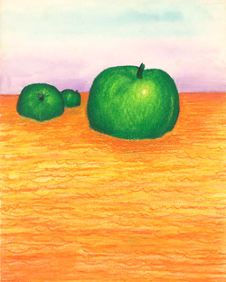Apples At Sea - Green