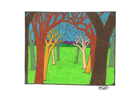 Arbor - Giclée Print on Canvas