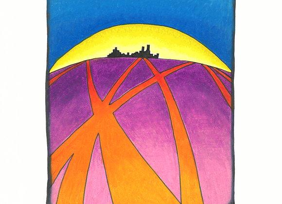 Ahhh. Tomorrow - Giclée Print on Canvas