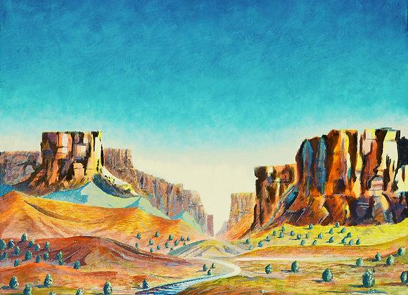 Westward Ho!  - Giclée Print on Canvas