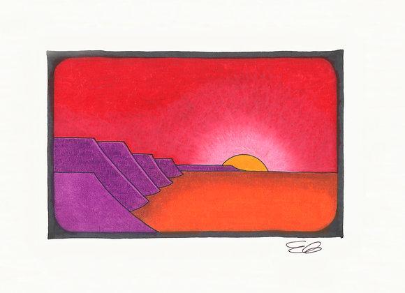 So Hot - Giclée Print on Canvas
