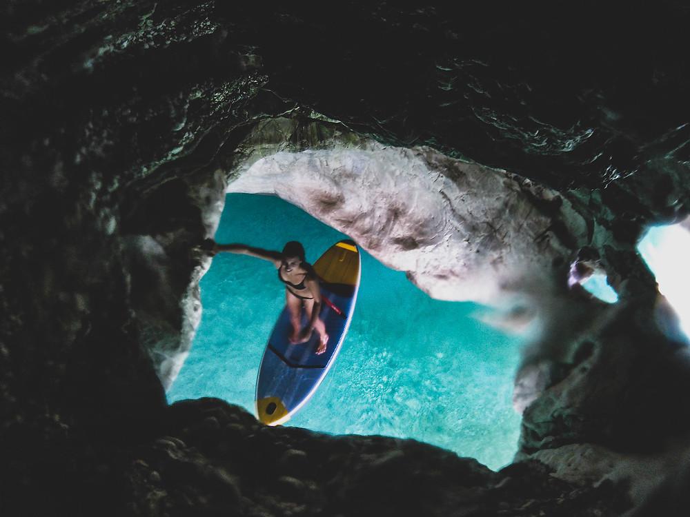 Paddle Cala Goloritze - 1 semaine de Roadtrip en Sardaigne - Céline Descroix