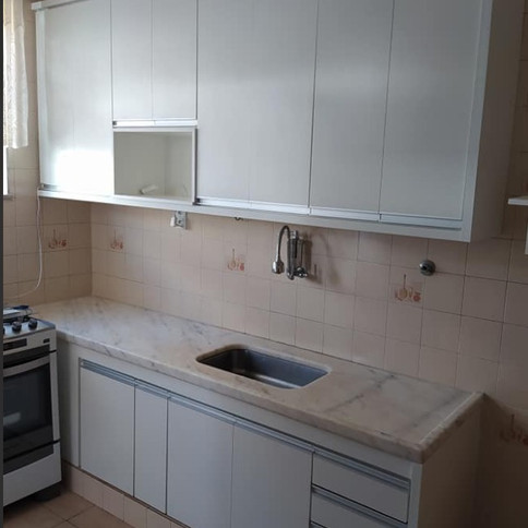 Cozinha em MDF Branco TX