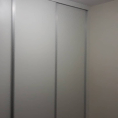 Guarda roupa 3 portas de correr MDF Branco TX