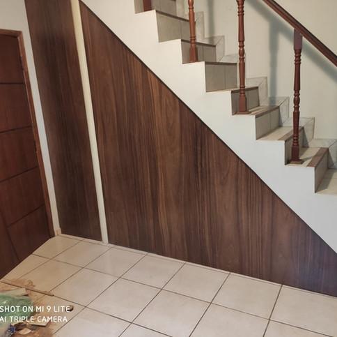 Fechamento debaixo de escada