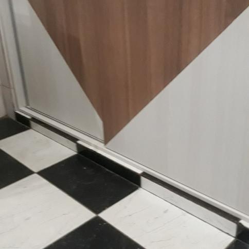 Cozinha planejada com 2 tons MDF externo