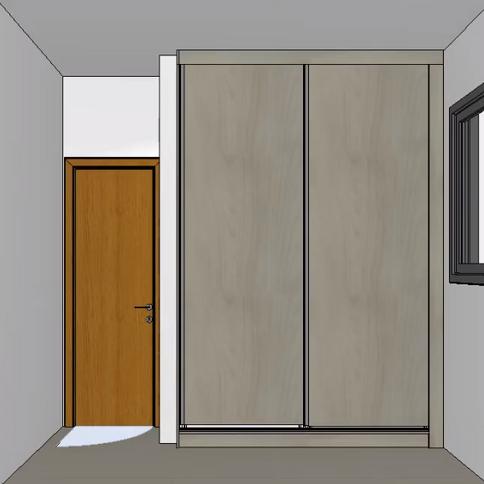 Projeto armários casa Bairro Ouro Preto