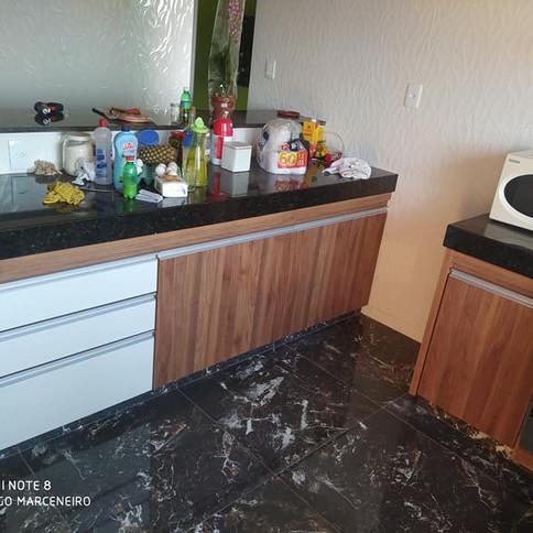 Cozinha Amendola Rustica com Branco TX