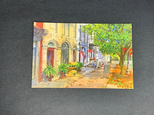 20 East Lucie Wellner Watercolor Postcard (Print)