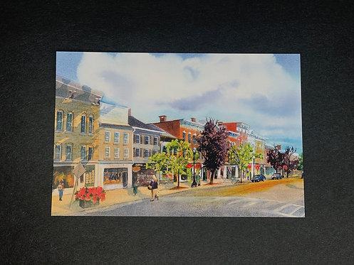 Cazenovia, Albany Street Lucie Wellner Postcard