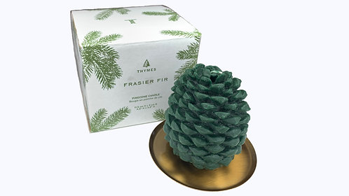 Thymes Frasier Fir Pine Cone Candle