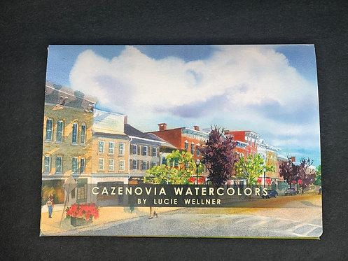 Cazenovia Watercolors by Lucie Wellner