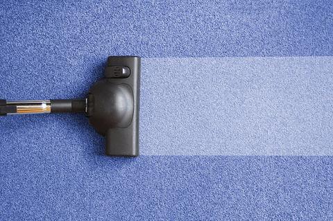 vacuum cleaner on the floor showing hous