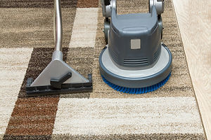 Carpets chemical cleaning with professio
