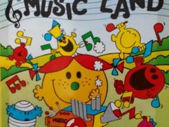 Mr Men In Music Land
