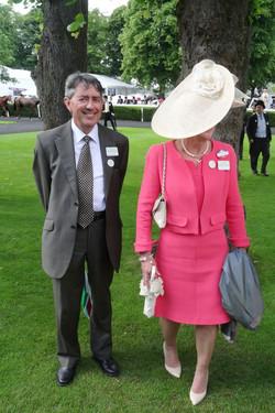 Paul Milliken with Mum