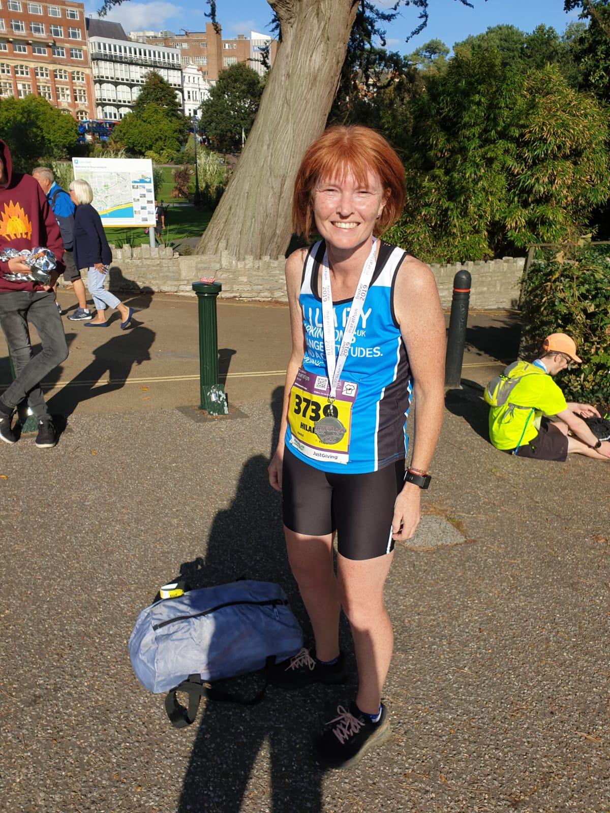 Just finished the Bournemouth Marathon