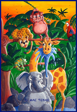 Humor en la selva