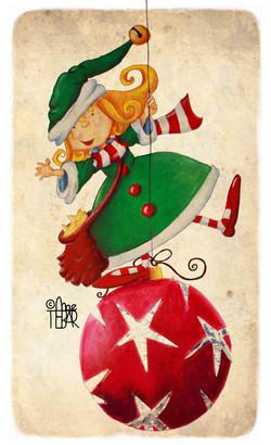 El duende de la Navidad