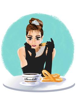 Audrey en Madrid