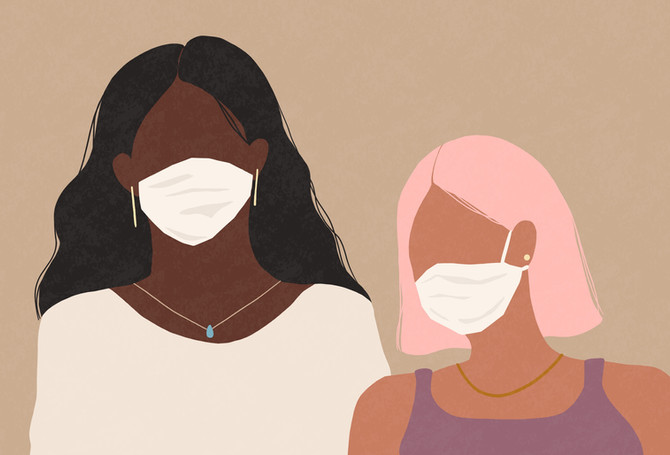 """La mejor manera de evitar """"Maskne"""" durante la pandemia"""