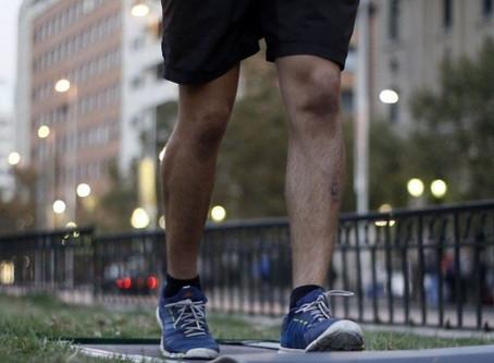 Lesiones en una maratón
