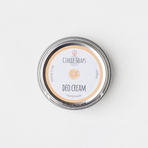 deo creme - citrus sweet