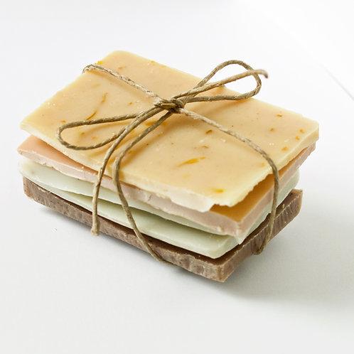 échantillons de savon