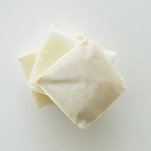échantillon de savon capillaire