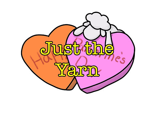 Palentine's Day Just the Yarn!