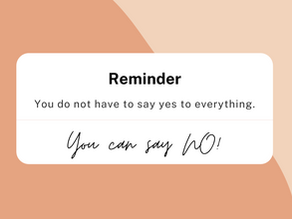 Saying 'YES' to 'NO'