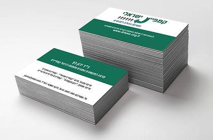 עיצוב כרטיס ביקור חברת ניהול קמפיינים