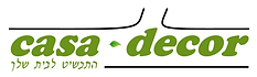 עיצוב לוגו לחברת ייצור דקורים