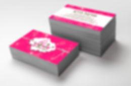 עיצוב כרטיס ביקור למעצבת עוגות