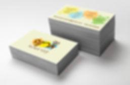 עיצוב כרטיס ביקור לחברת חוגים והפעלות