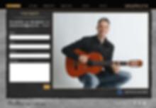 עיצוב אתר אינטרנט למפיק מוסיקלי